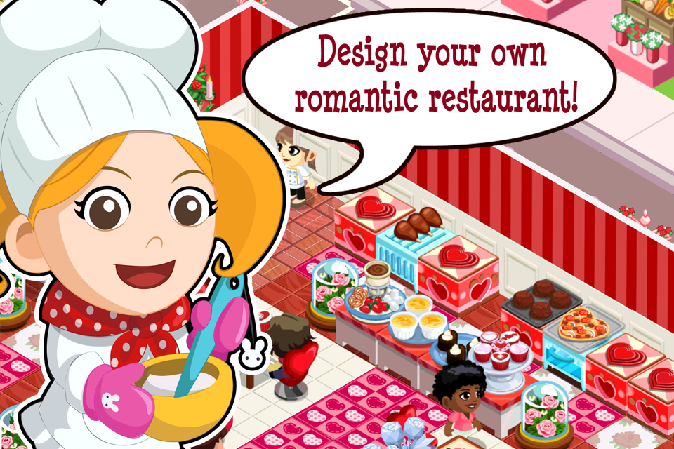 Image of Restaurant Story: Valentine's Day for iPhone